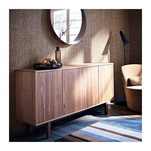 Sideboard, walnut veneer, $449