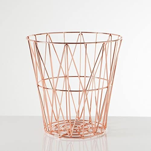 Diamond Weave Storage Basket, $47