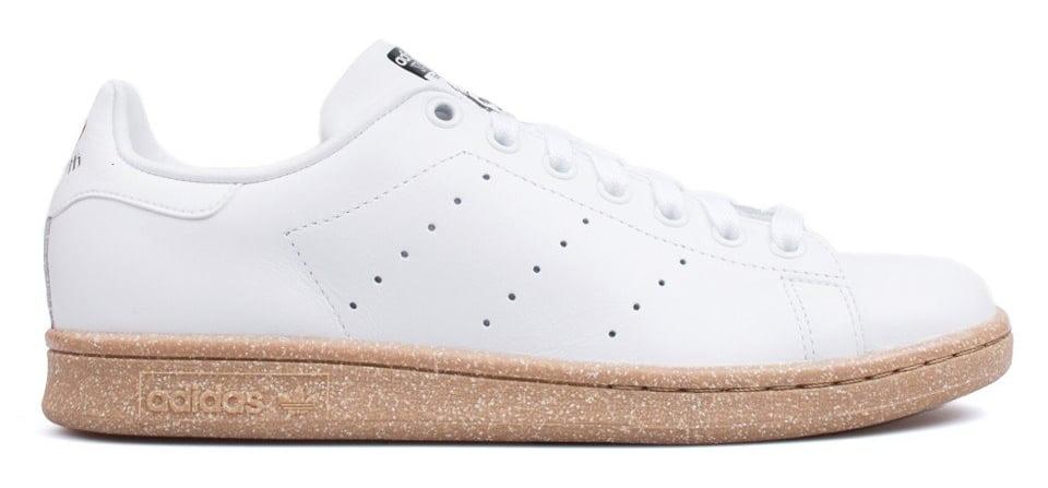Adidas Stan Smith gum sole, $75