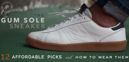 Gum Sole Sneakers: Our 12 Handsome Picks & How to Wear Them