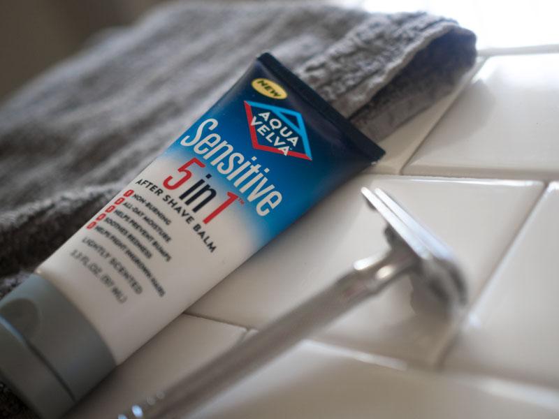 Aqua Velva 5 in 1 shave balm