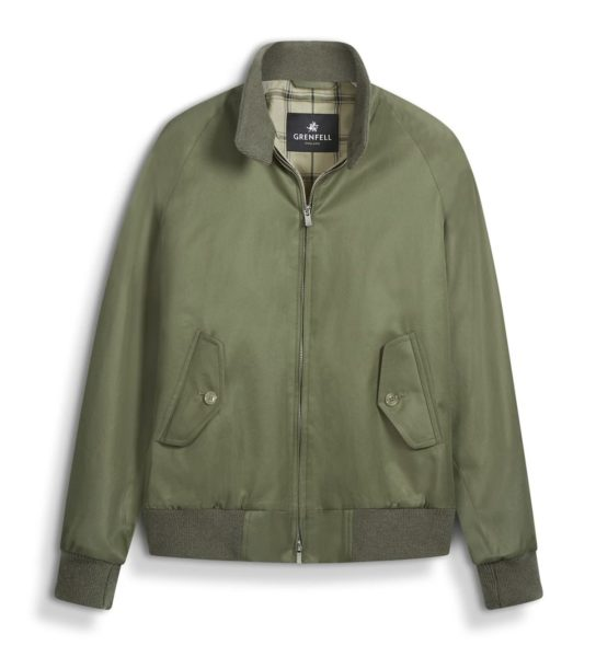 green harrington jacket