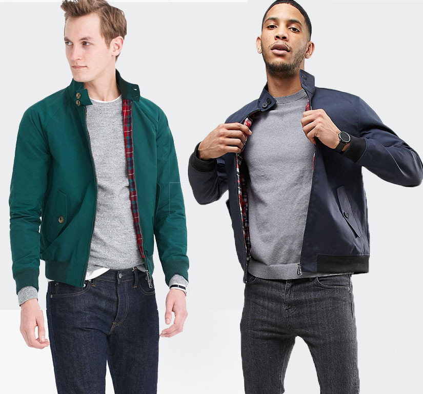 harrington jacket outfit inspiration