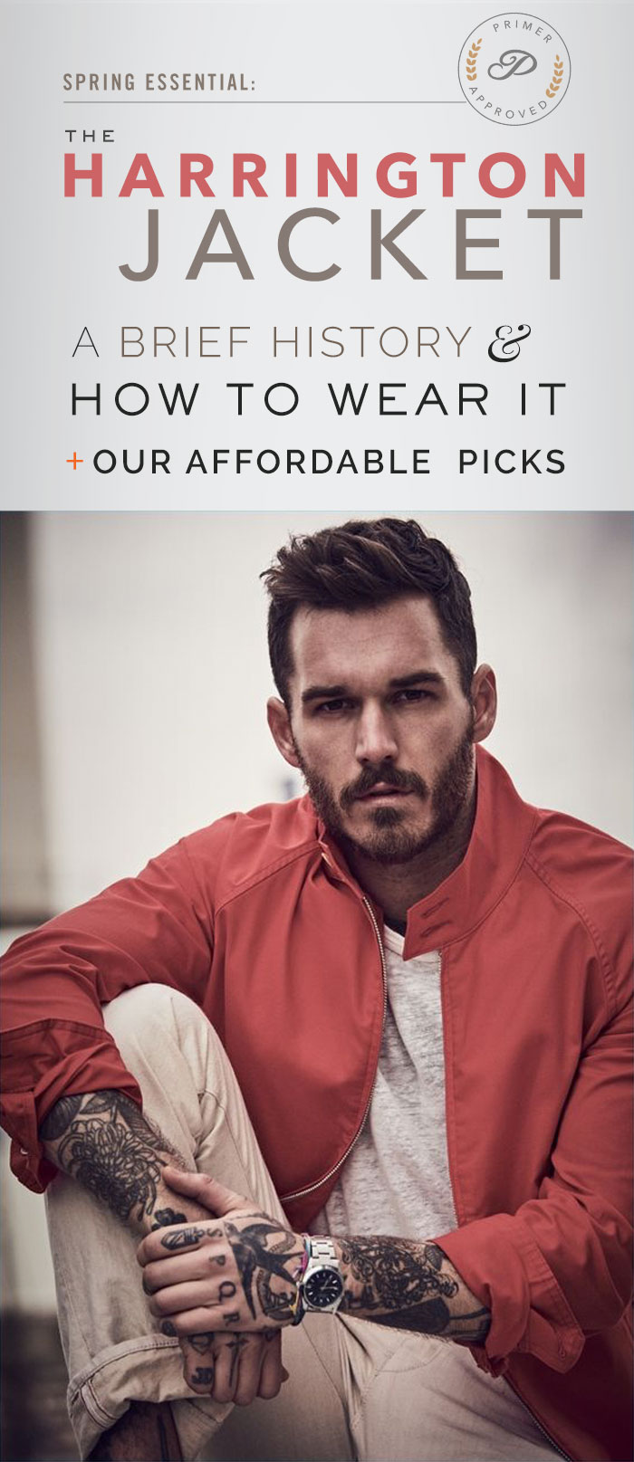The Harrington Jacket - How to Wear It, History, & Affordable Picks