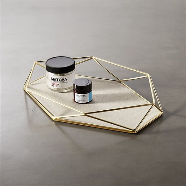 prisma geometric storage catchall, $14.95