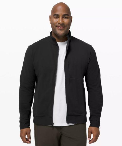 black harrington style jacket
