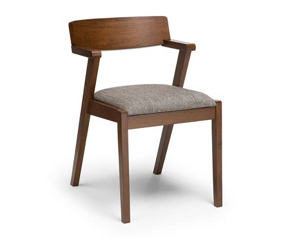 zola volcanic gray dining chair, $169
