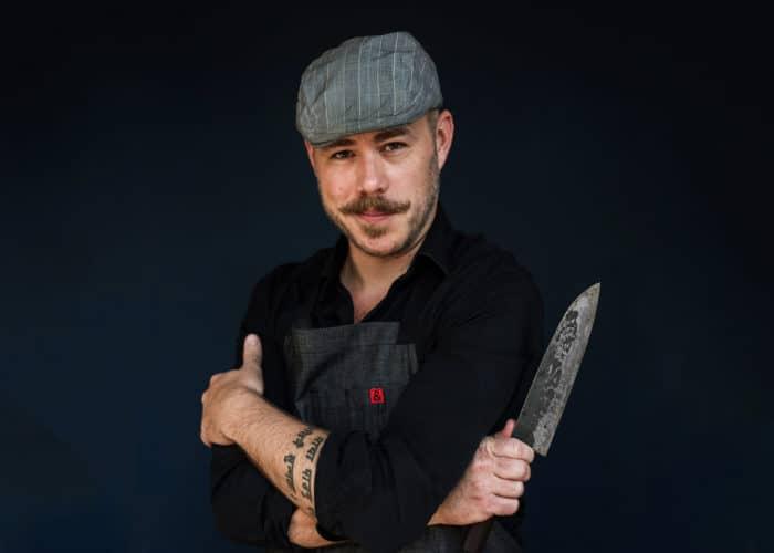 Image of burger chef Matthew Ramsey