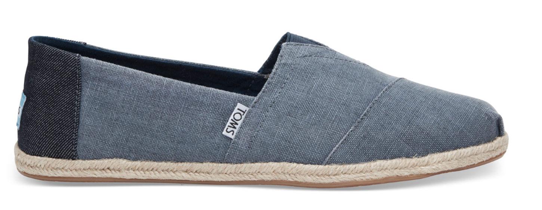 A blue shoe