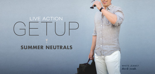 Live Action Getup: Summer Neutrals