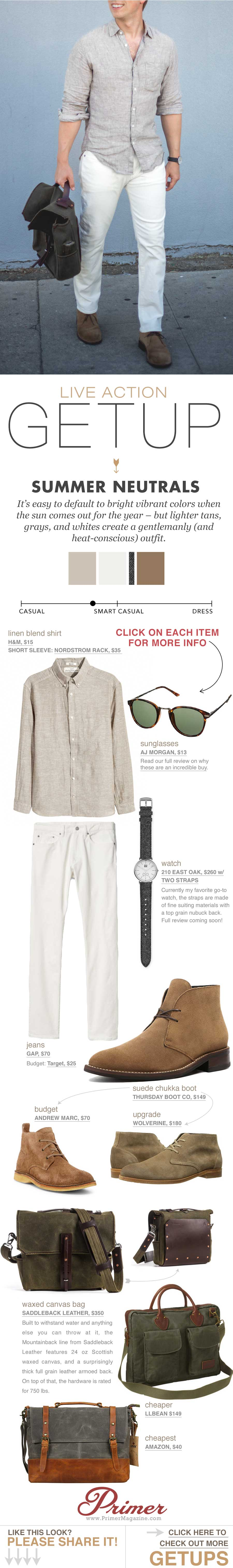 men's summer outfit ideas   white jeans