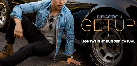 Live Action Getup: Lightweight Rugged Casual