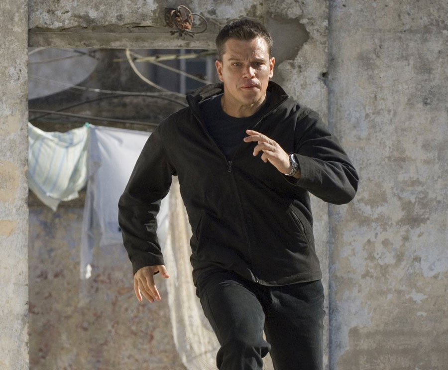 jason bourne running