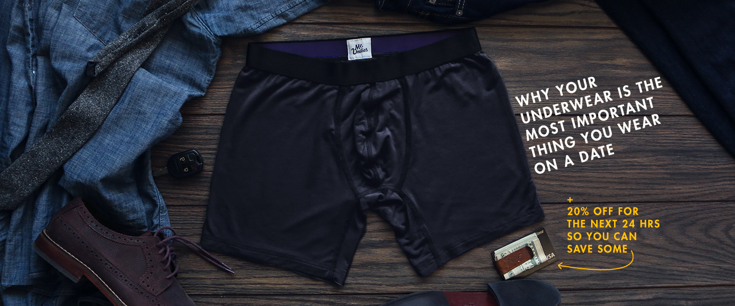 Why Your Underwear Is The Most Important Thing You Wear On A Date