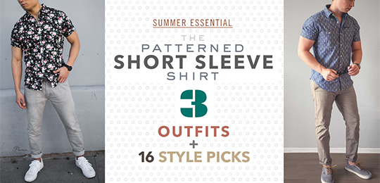 The Patterned Short Sleeve Shirt: 3 Outfits + 16 Affordable Style Picks