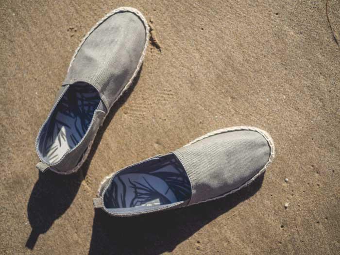 H&M gray Espadrilles