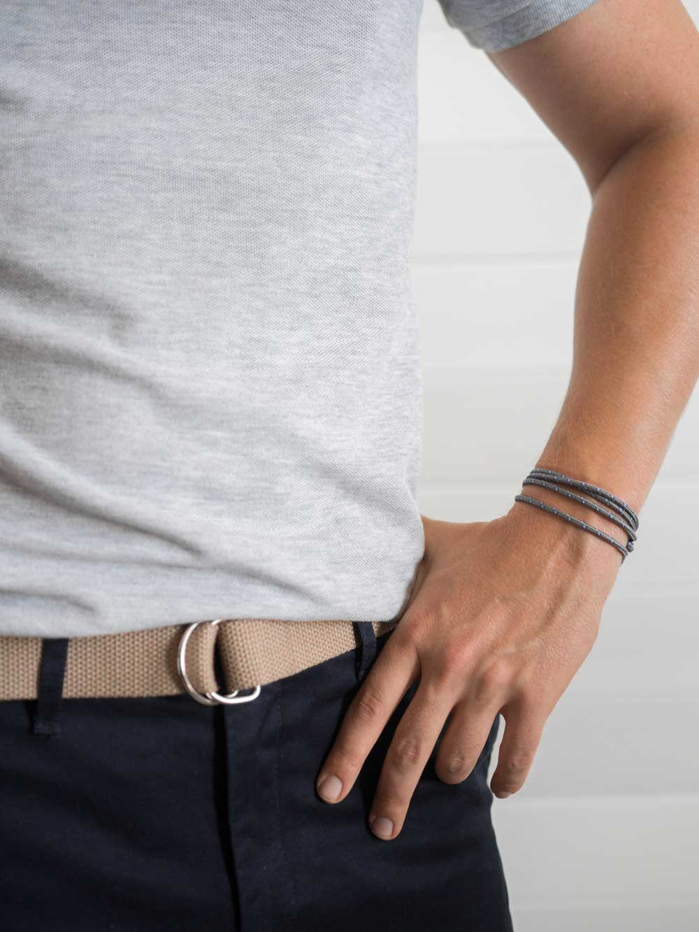 d ring canvas belt bracelet polo chinos