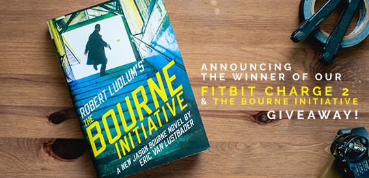 Announcing the Winner of a Fitbit Charge 2 and The Bourne Initiative