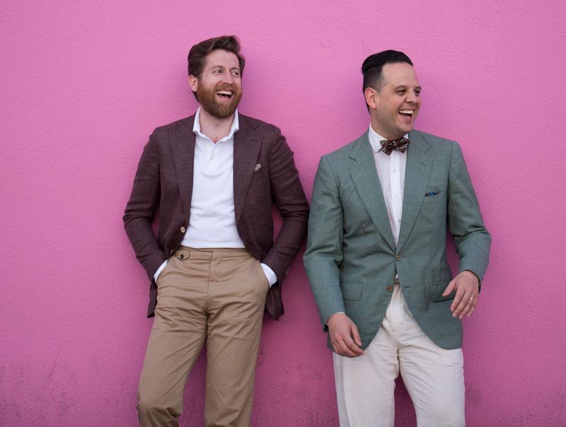 paul smith pink wall gentlemen