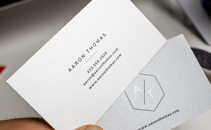 5 free modern business card templates why business cards are the pearlized finish offers a very subtle iridescent coating colourmoves