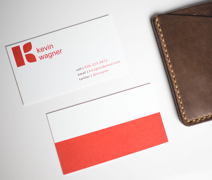 free red and white business card template download