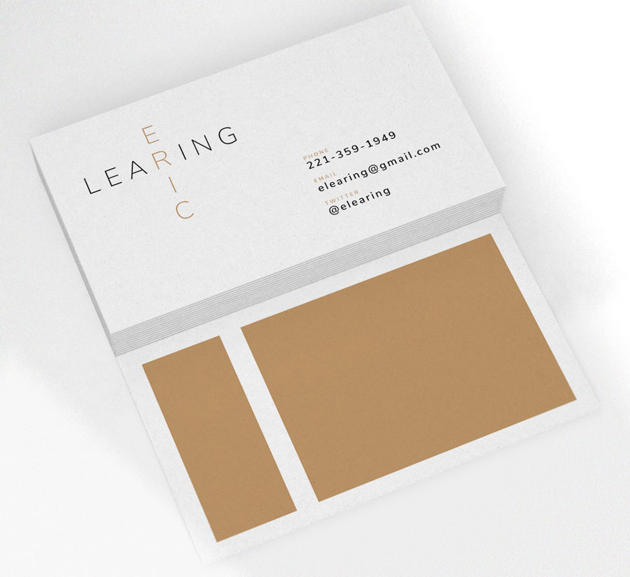 5 free modern business card templates why business cards are even gold and black clean modern business card template fbccfo Image collections