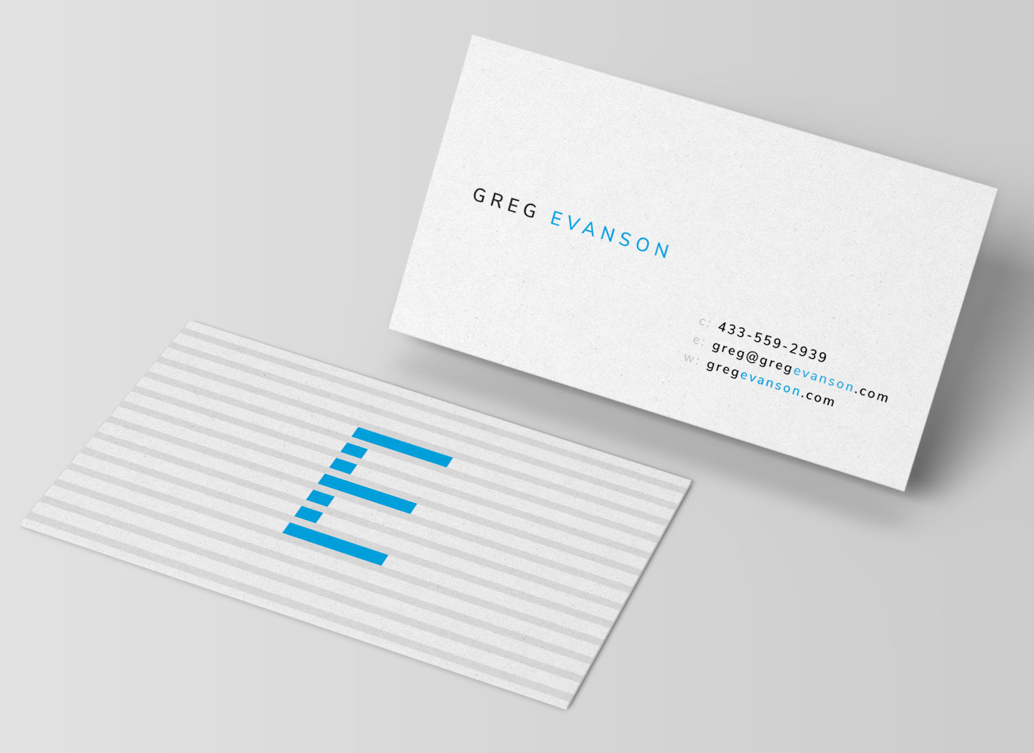 simple clean business card template download