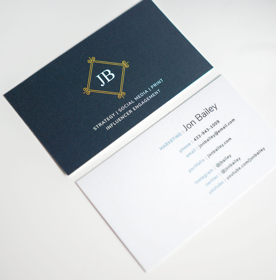 5 free modern business card templates why business cards for Photo business card template