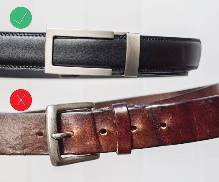 old belt vs anson belt