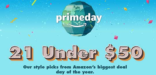 21 Under $50! Amazon Prime Day Deal Picks Good Until Tonight at Midnight