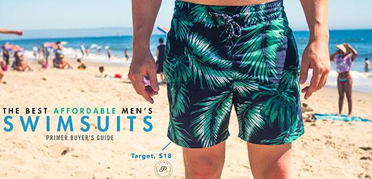 The Best Affordable Men's Swim Trunks