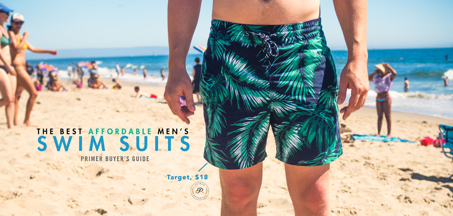 best mens swimsuit - affordable swim trunks