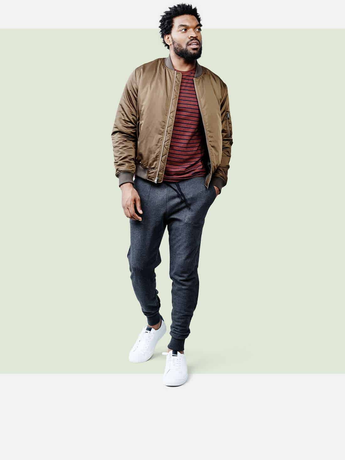A man modeling Target clothing