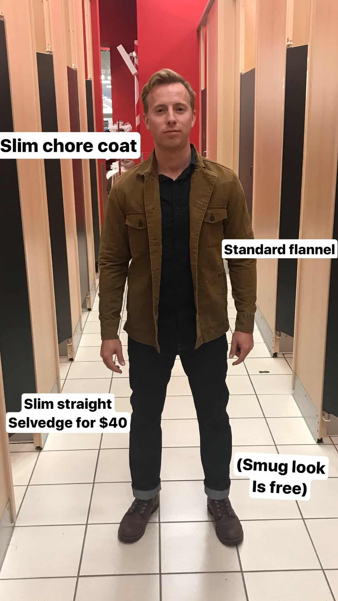 Target S New Men S Line Goodfellow Amp Co Fitting Room