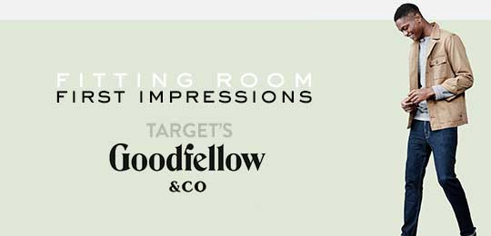 Target's New Men's Line Goodfellow & Co.: Fitting Room First Impressions