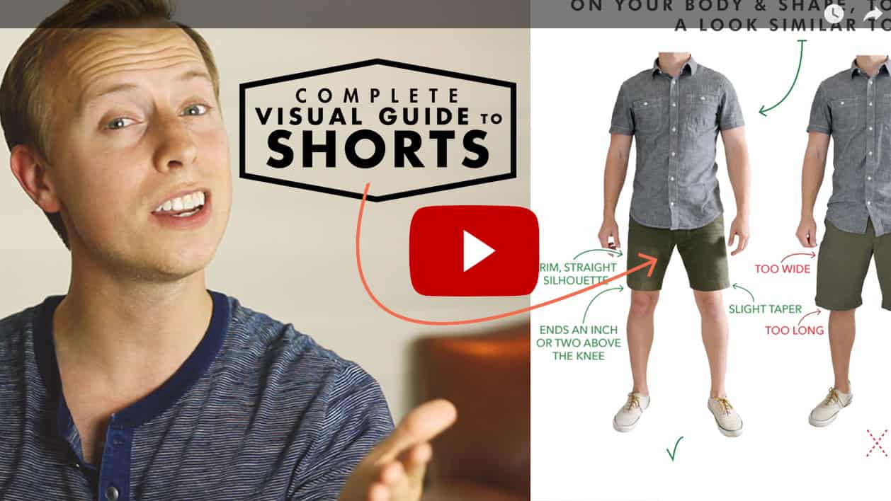 men's shorts video