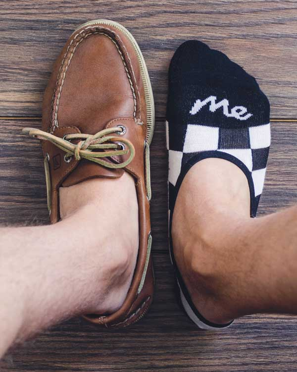 no show socks with boat shoes