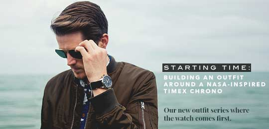 Starting Time: Building an Outfit Around a NASA-Inspired Timex Chrono