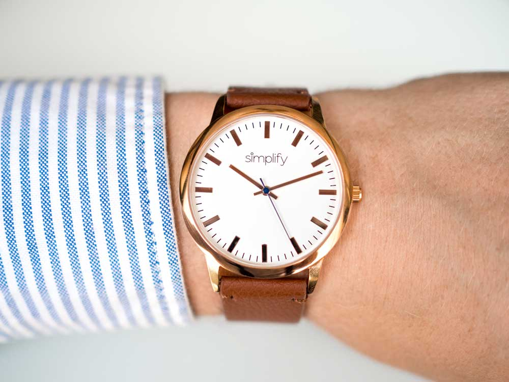Simplify minimalist watch
