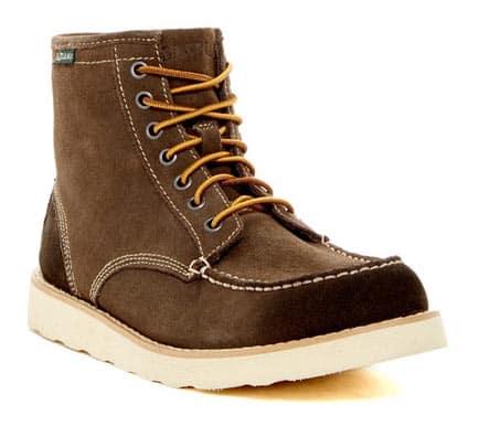 Tan moc toe boots