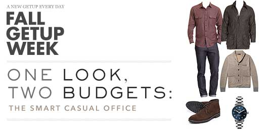 Fall Getup Week: 1 Look, 2 Budgets