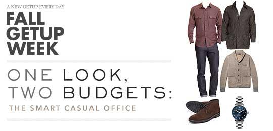 Fall Getup Week: 1 Look, 2 Budgets