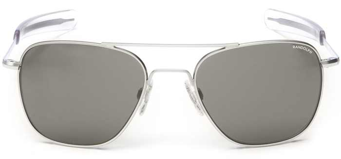 A pair of sunglasses on a table, with Aviator sunglasses