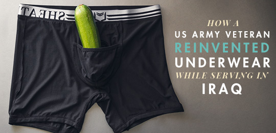 How a US Army Veteran Reinvented Underwear While Serving in Iraq