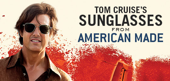 Tom Cruise's Sunglasses in American Made