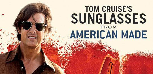 Tom Cruise's Sunglasses in American Made