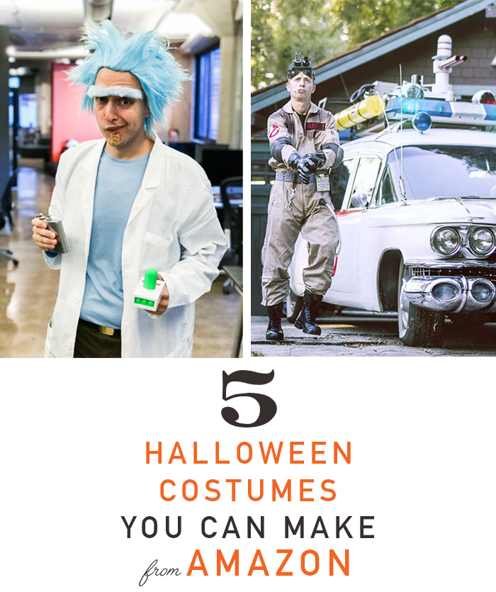 5 halloween costume you can make from amazon