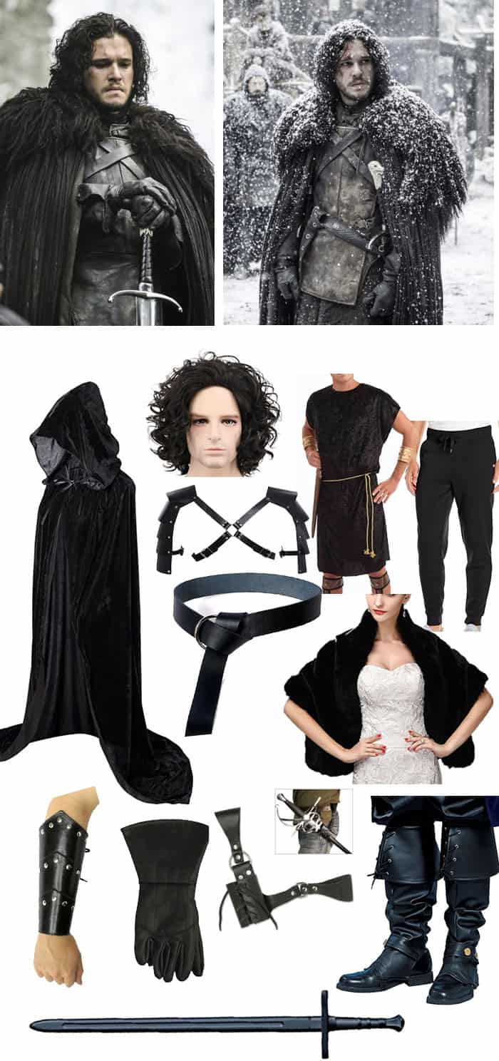 Jon Snow DIY halloween costume amazon