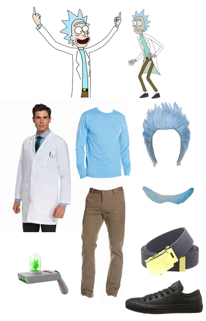 Rick Sanchez DIY halloween costume amazon rick and morty