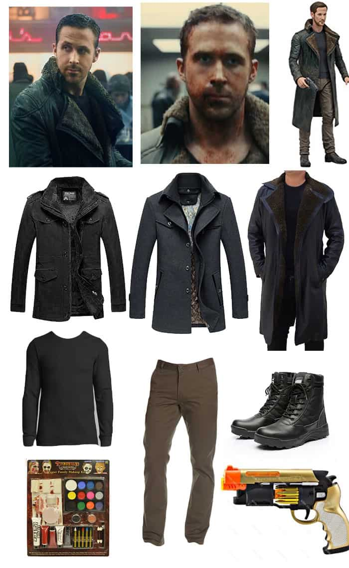 Blade Runner Ryan Gosling DIY halloween costume amazon